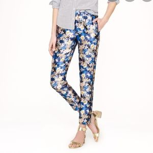 J.Crew Collection Floral Track Pant Trouser